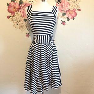 Effie's Heart | Mixed Striped Tank Dress size XS
